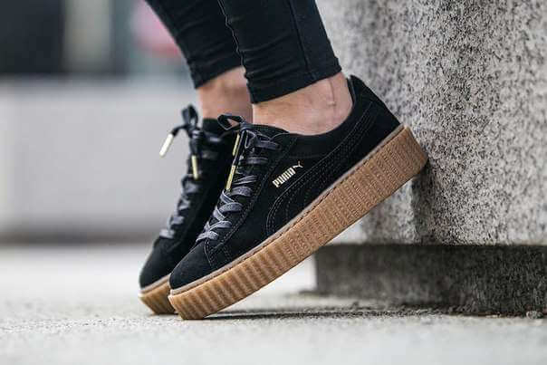 98f5ba042d Shopping For Puma By Rihanna Creepers/ Review – miss alyss